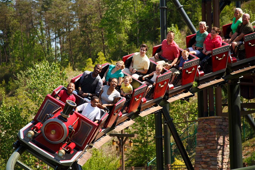 Rides at Dollywood