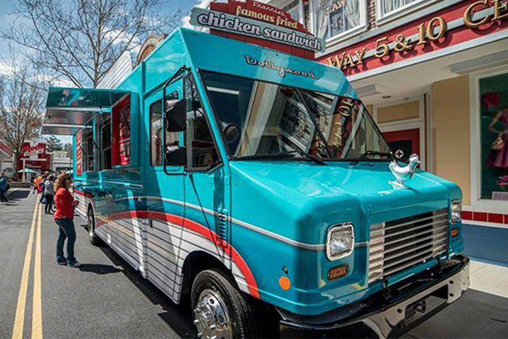 Dollywood Jukebox Junction Food Truck