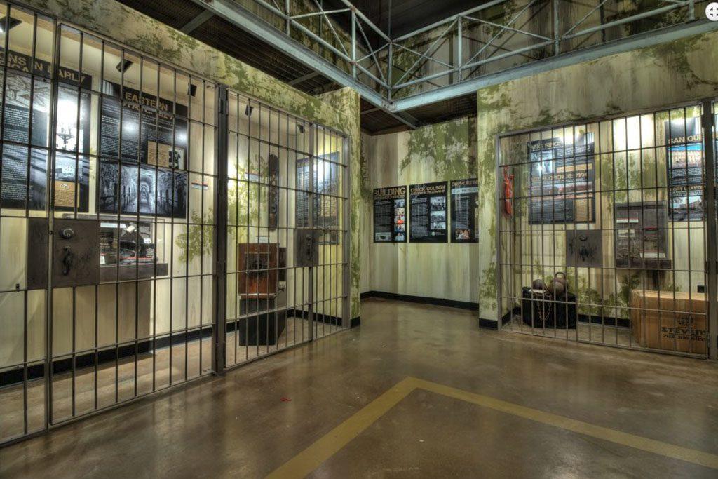Alcatraz East Crime Museum exhibit