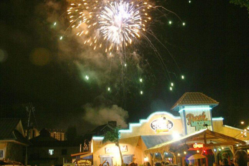 Fourth of July Fireworks in Gatlinburg