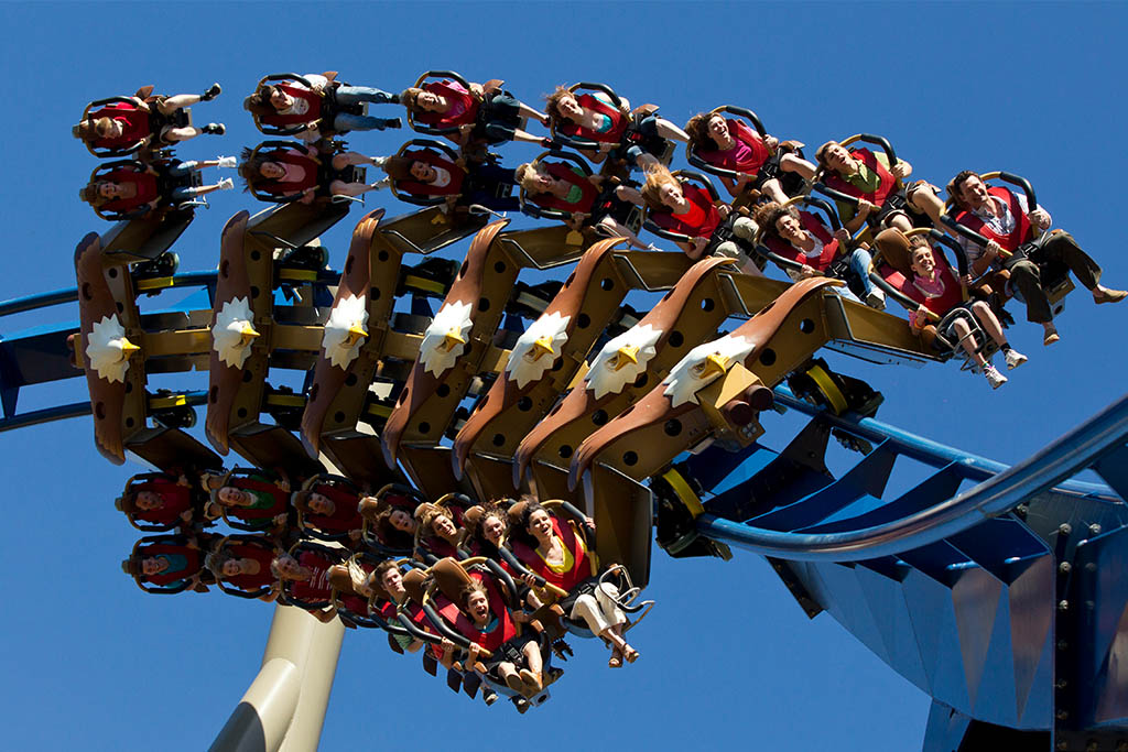 Dollywood's top five rides