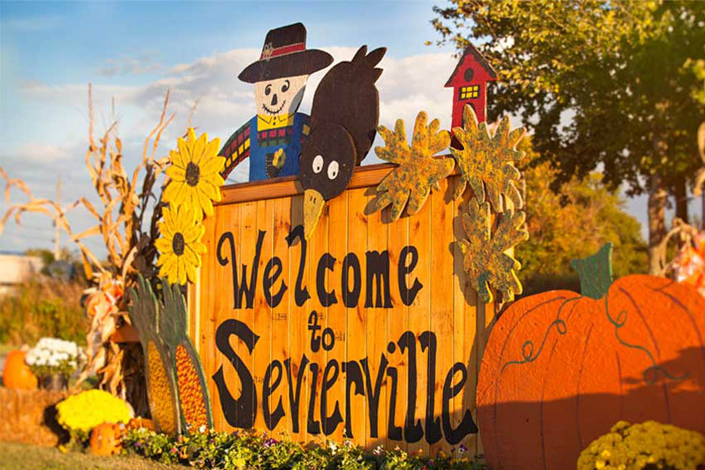 Sevierville fall events