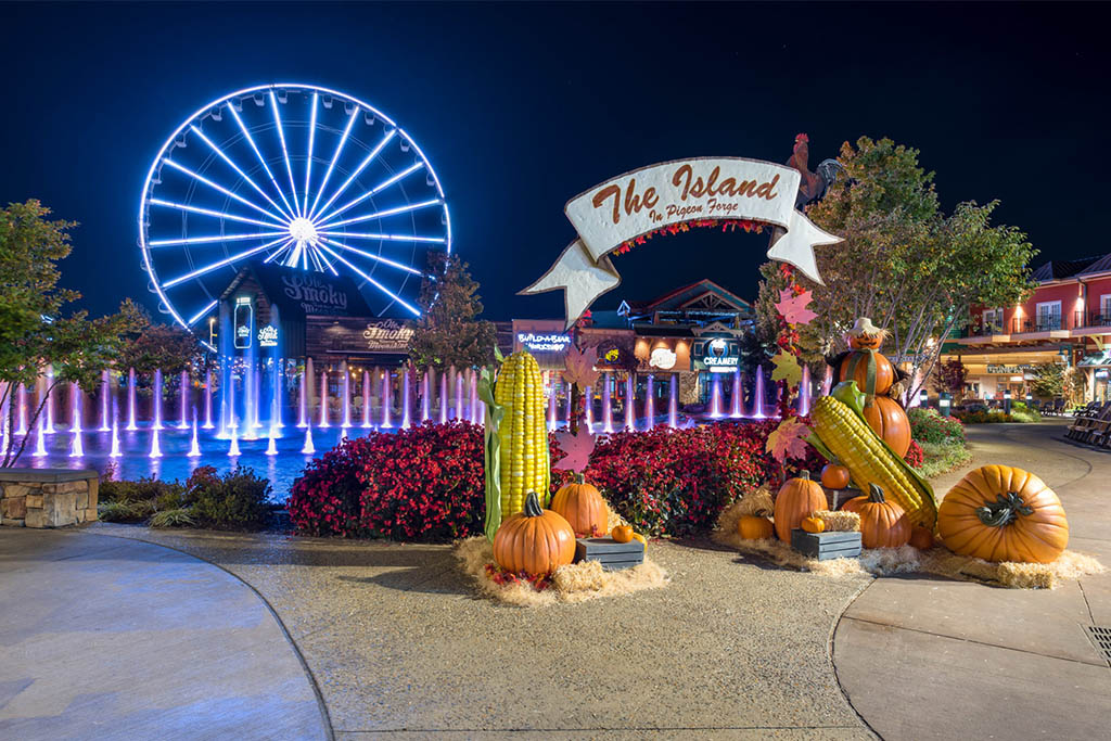 The Island in Pigeon Forge fall events
