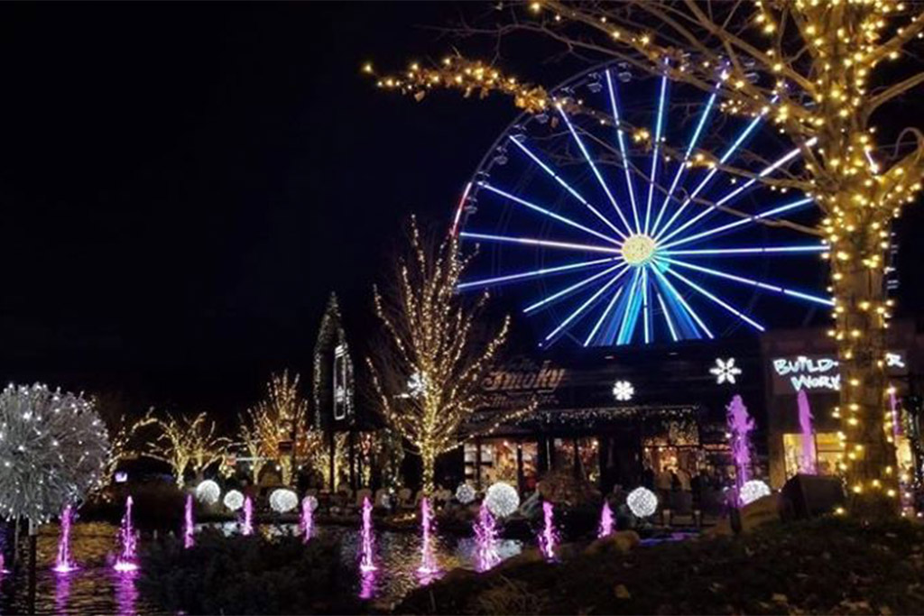 The Island in Pigeon Forge Winter Events