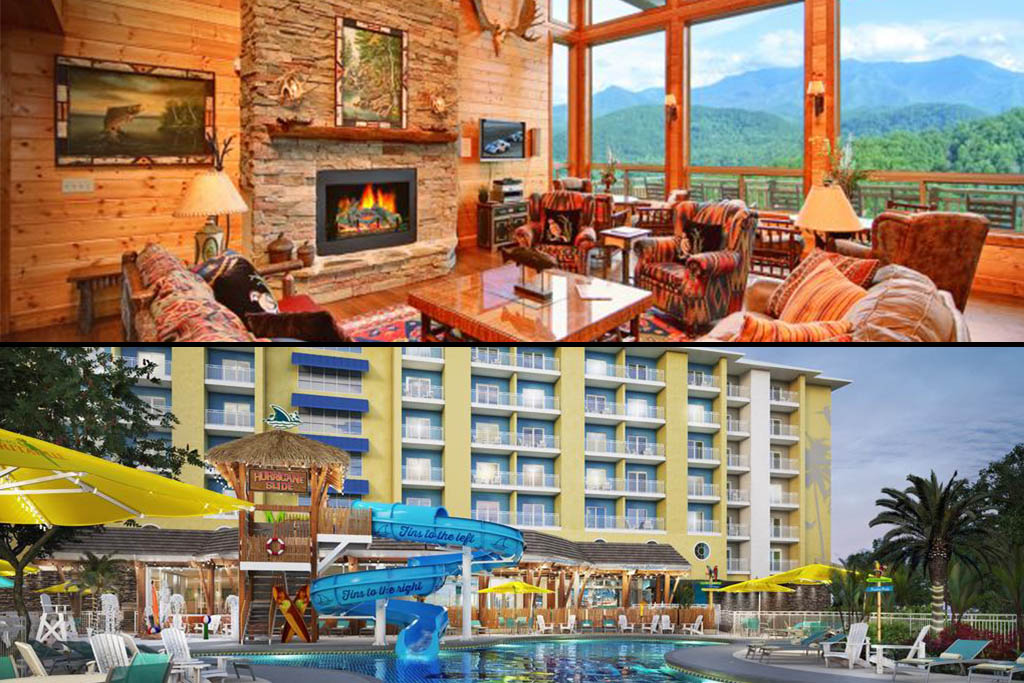 Staying in a Cabin or Hotel in Gatlinburg