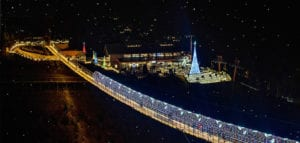 skylift park at christmas