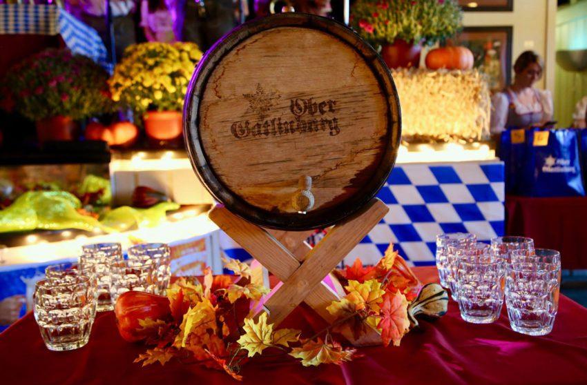 keg at Oktoberfest