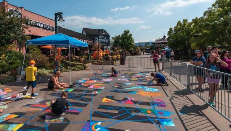 5th Annual ChalkFest – The Island