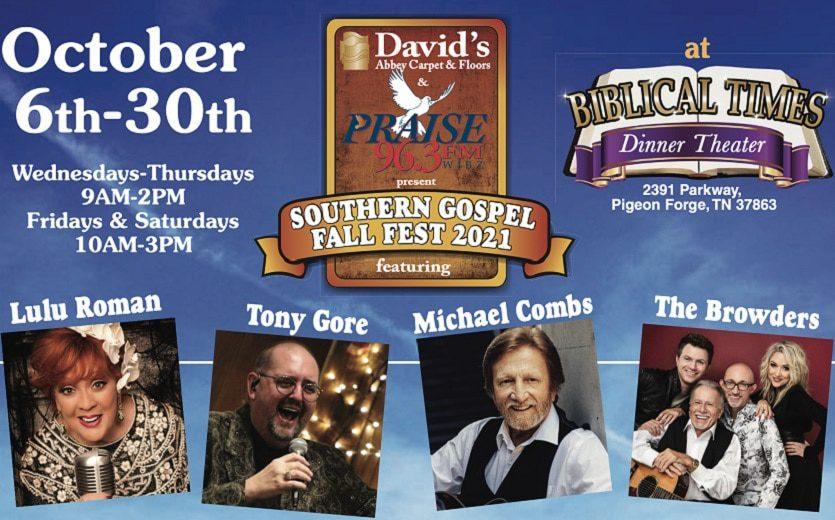 Southern Gospel Fall Festival